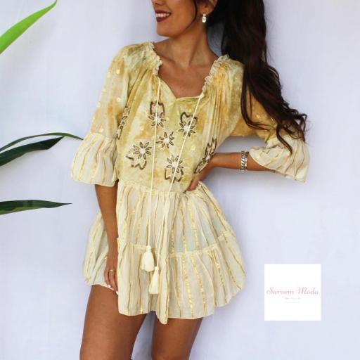 Vestido Dana Amarillo [1]