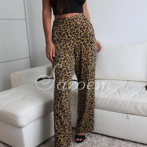 Pantalón Leopardo Largo [1]