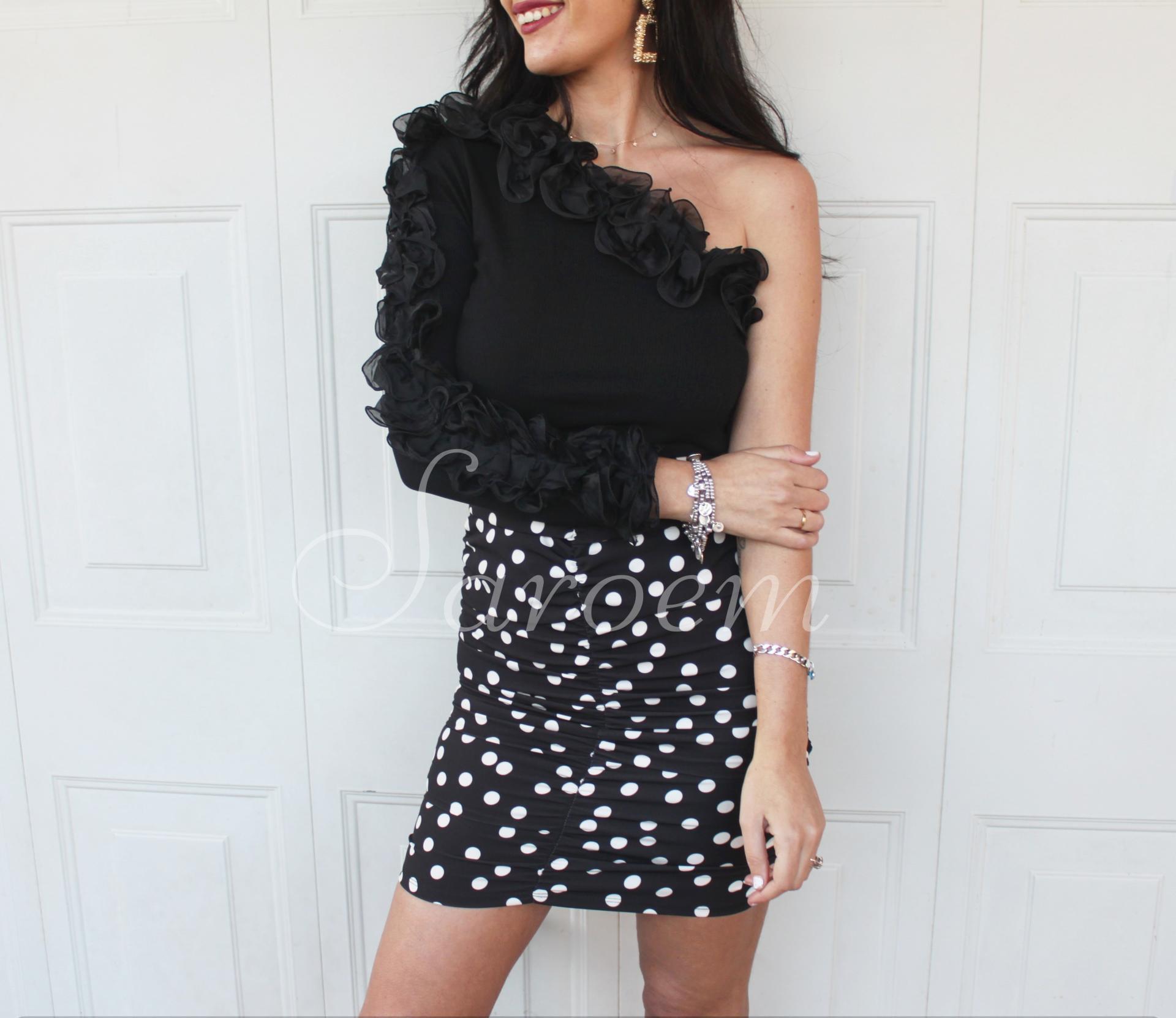 Falda Rocío Negra