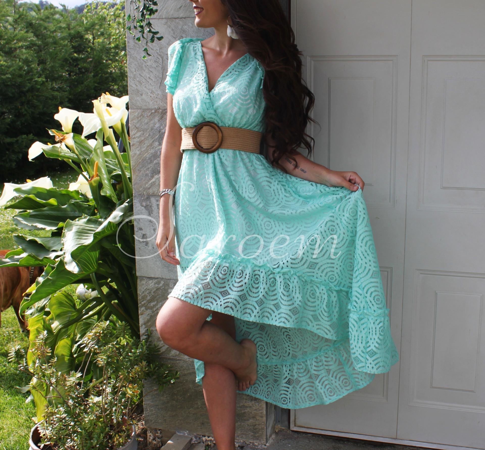 Vestido Kara Turquesa