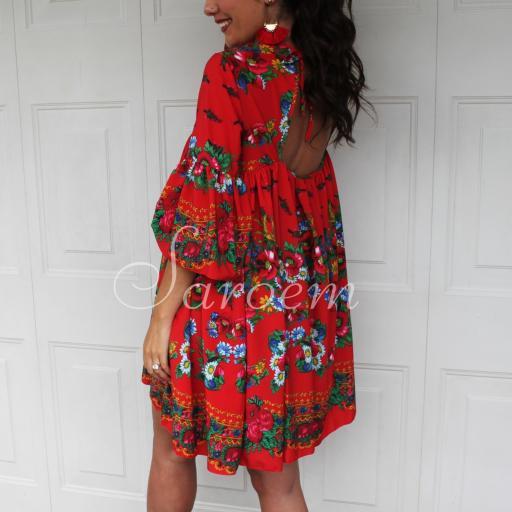 Vestido México Rojo [0]