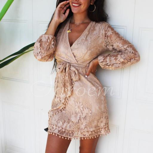 Vestido Chiara Beige [2]