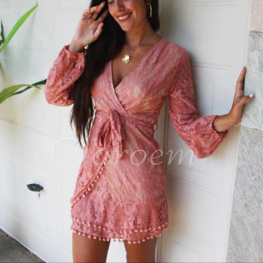 Vestido Chiara Rosa