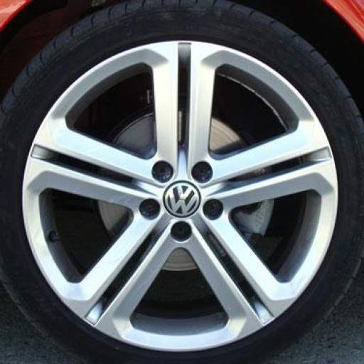 "65 x 56 mm. Tapa  buje rueda  ""VW Volkswagen""  Diametro:  Exterior 65mm. Interior 56mm.  (Aproximado) [2]"