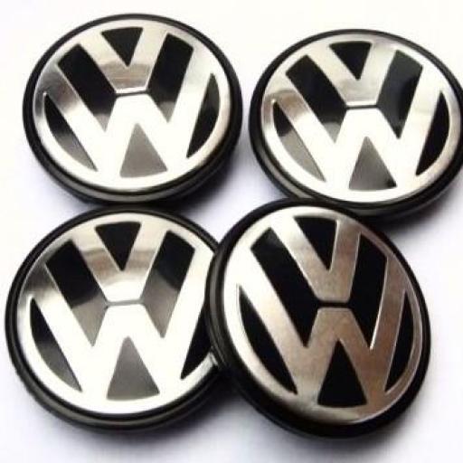"75 x 65 mm. Tapa Buje Rueda ""VW"" Diametro: Exterior 75mm. Interior 65mm.""Aproxi."" [2]"