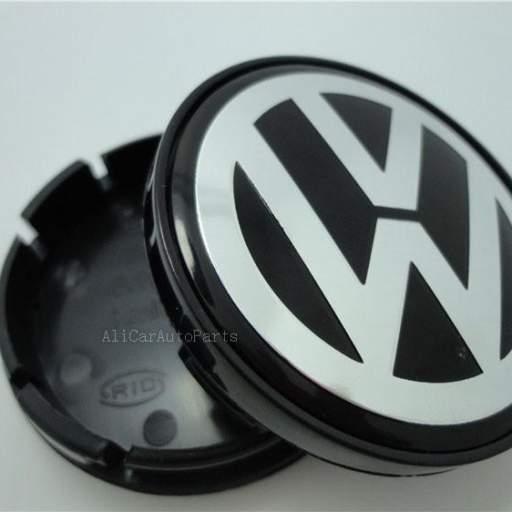 "55 x 52 mm.  ""RANURA""  Tapa  Buje rueda  ""VW Wolkswagen""  Diametro:  Exterior 55mm. Interior 52mm. [1]"