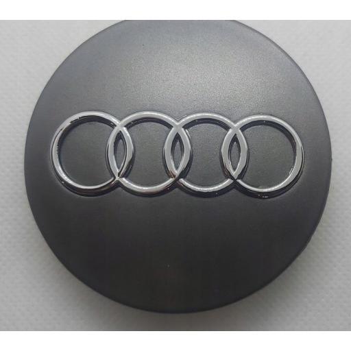 """68 x 56 mm. Tapa Buje Rueda """"Audi""""   Color  PLATA Ref.  8D0 601 170   [3]"""