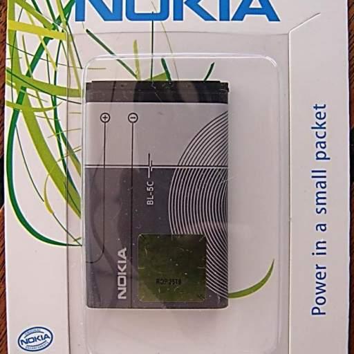 Batería telefono   BL 5C  para telefono  Nokia