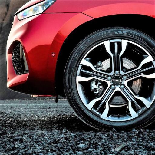 "Tapa  56 mm. Exterior Buje  Rueda  ""Opel"" Color Negro  [2]"