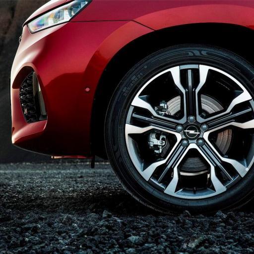 "Tapa  64 mm. Exterior Buje  Rueda  ""Opel"" Color Negro  [3]"