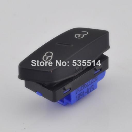Interruptor - Pulsador control Cierre Centralizado  valido para  Vollswagen Golf V  Seat Alhambra [2]