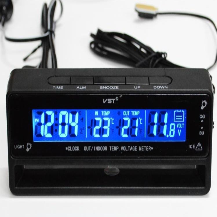 Reloj - Termometro - Voltimetro  (2)