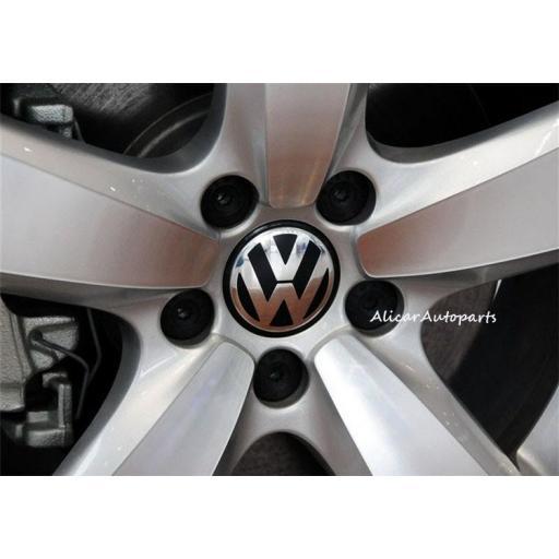 "56 x 52 mm. ""Sin ranura lateral""  Tapa Buje Rueda ""VW"" Diametro: Exterior 56mm. Interior 52mm. [2]"