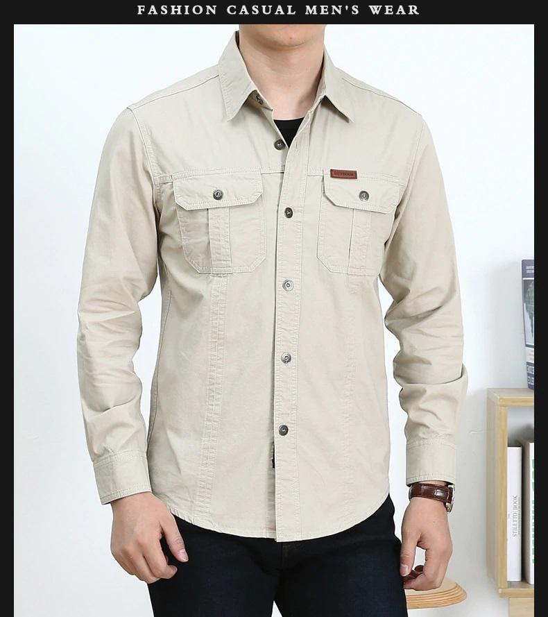 Camisa  Sport C/Beige  M/L  100% Algodon  Especial:  Caza, Off-Road, Senderismo, Pesca, Etc...
