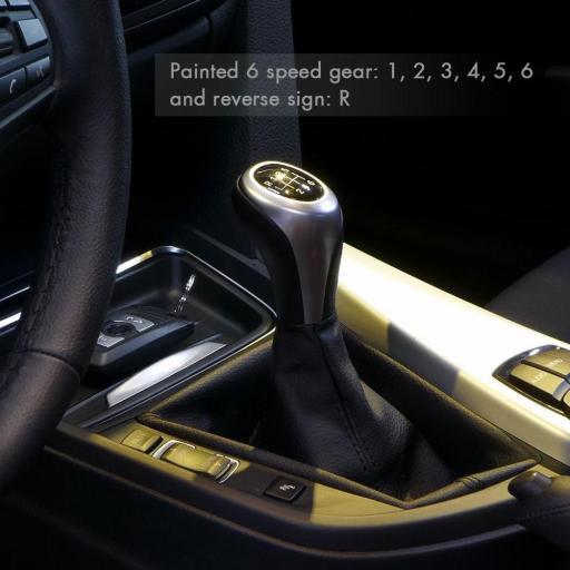 Pomo Cambio (Pestaña  Vertical)  para BMW  6 Velocidades [3]