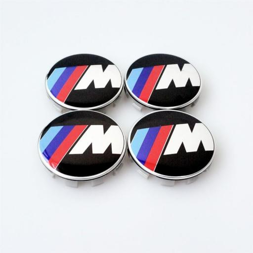 "Tapa  Buje  Rueda  ""BMW""  Diametro:  Exterior 68mm.  x  Interior  65 mm.) [1]"