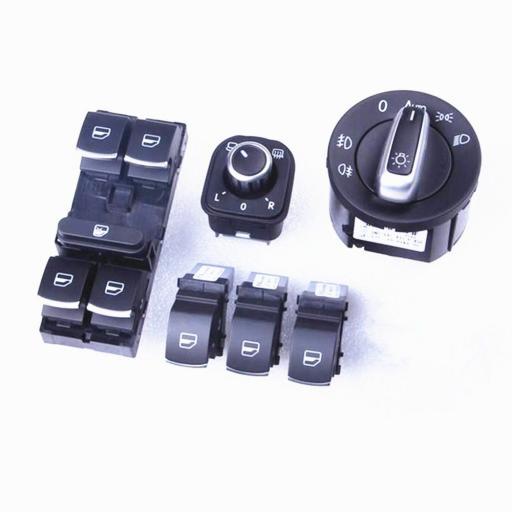 Pack 6 Piezas 5 Pta. para VW Golf V, Jetta, Passat, etc.....