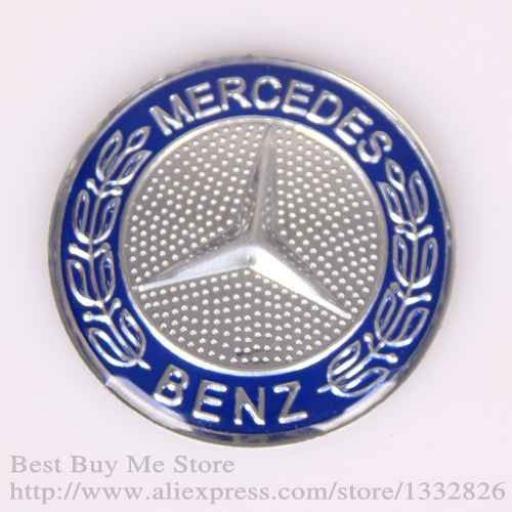 Logo Anagrama Mercedes Capot delantero [2]