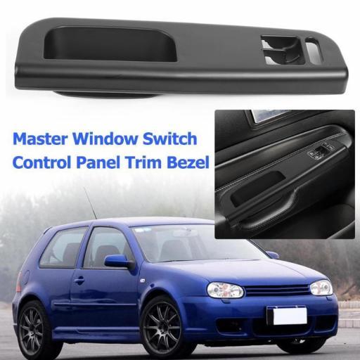 VW Golf IV 3 Puertas. - Tirador  Interior  Puerta Conductor  D.I.  Carcasa Embellecedor -  Elevalunas Electrico - Puerta. Conductor [2]