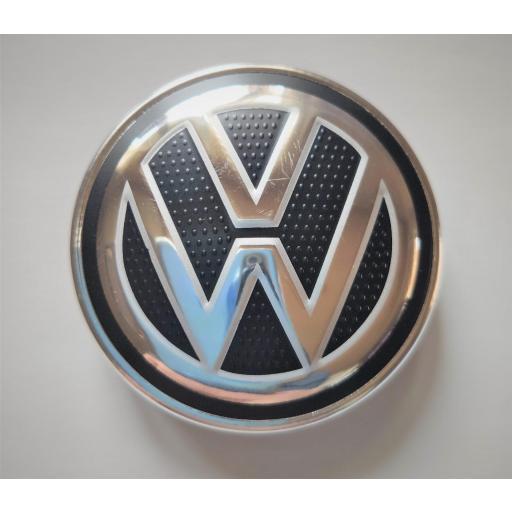 "56 x 52 mm.  Tapa  Buje rueda  ""VW Wolkswagen""  Diametro:  Exterior 56mm. Interior 52mm."