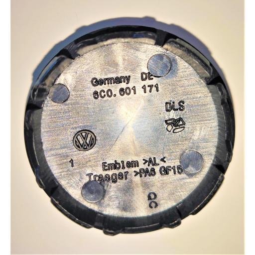 "56 x 52 mm.  Tapa  Buje rueda  ""VW Wolkswagen""  Diametro:  Exterior 56mm. Interior 52mm.   [3]"