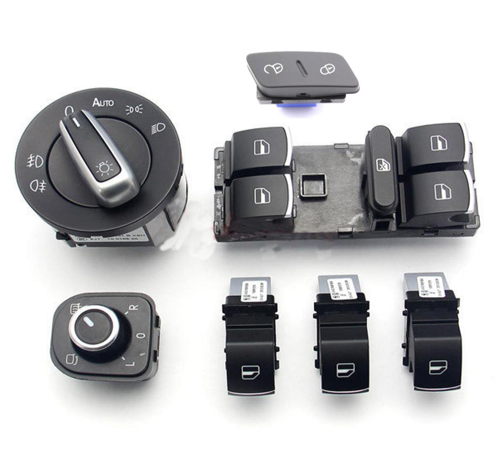 Pack 7 Piezas 5 Pta. para VW Golf V, Jetta, Passat, etc.....
