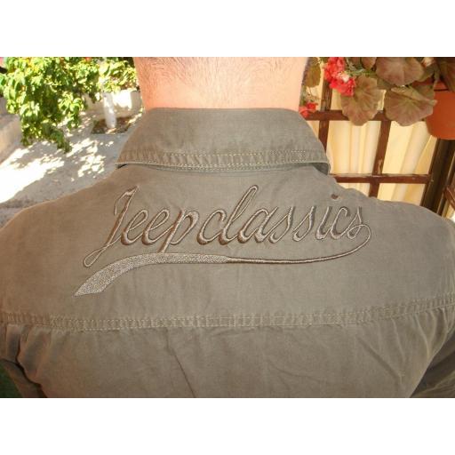 "Camisa  Bordado  ""Jeep-Classic""  Especial:  Caza, Off-Road, Senderismo, Pesca, Etc... [3]"