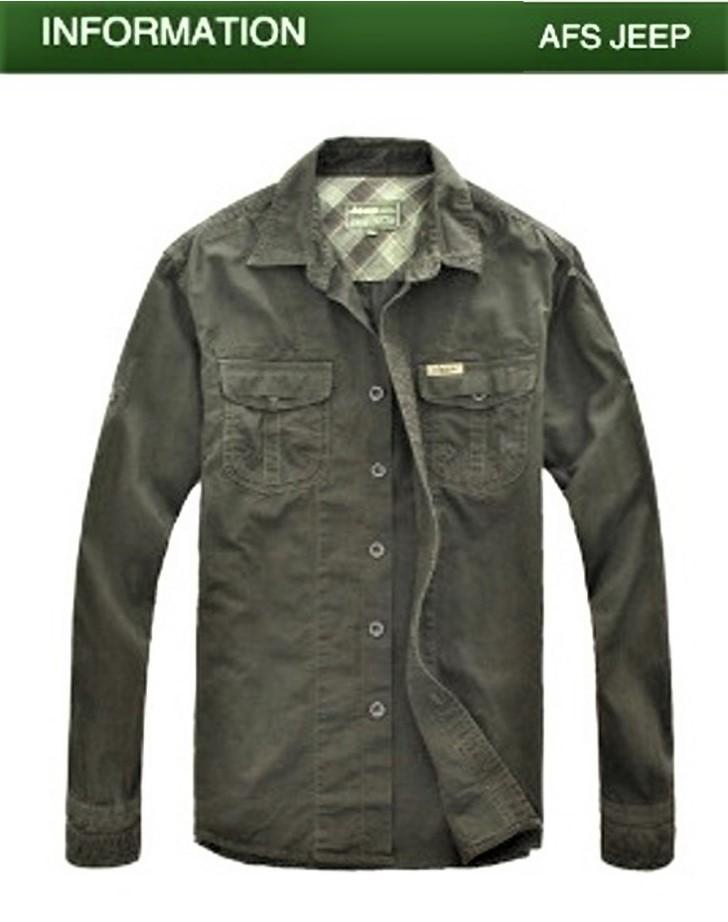 "Camisa  Bordado  ""Jeep-Classic""  Especial:  Caza, Off-Road, Senderismo, Pesca, Etc..."