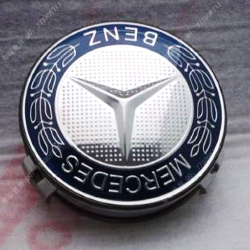 75 mm. Tapa  Buje  rueda  valido para Mercedes  (Laureada)