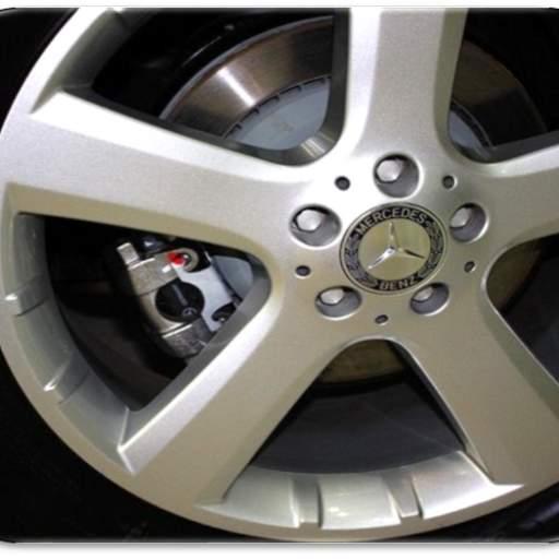 75 mm. Tapa  Buje  rueda  valido para Mercedes  (Laureada) [1]