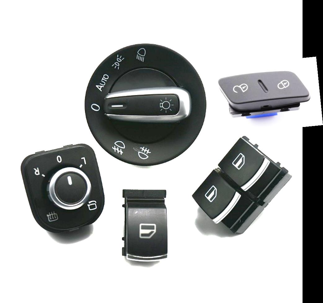 Pack 5 Piezas para VW Golf V, Jetta, Passat, etc.....