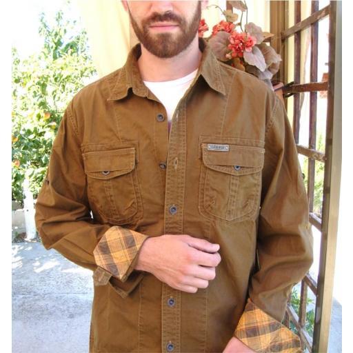 "Camisa  Bordado  ""Jeep-Classic""  Especial:  Caza, Off-Road, Senderismo, Pesca, Etc... [0]"