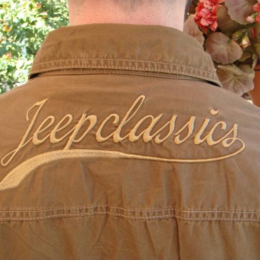 "Camisa  Bordado  ""Jeep-Classic""  Especial:  Caza, Off-Road, Senderismo, Pesca, Etc... [2]"