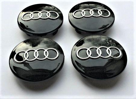 Tapa buje Audi (Negra)