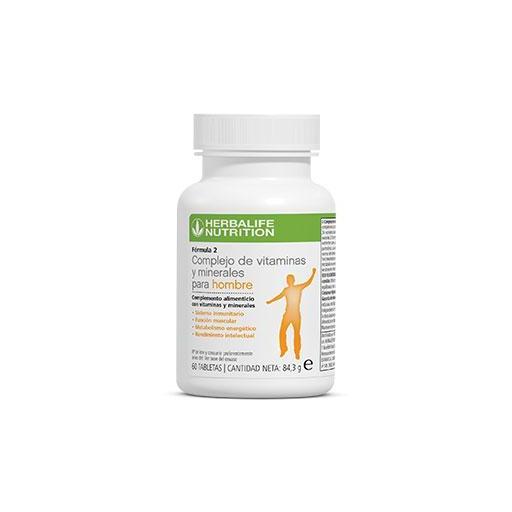 F2 Complejo de vitaminas y minerales para hombre