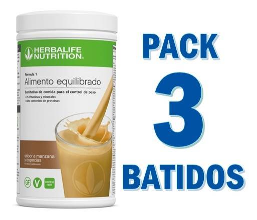 Pack Basik 3 Batidos Fórmula 1