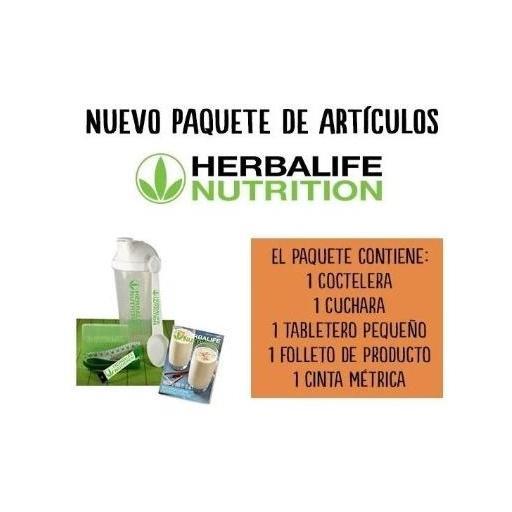 Paquete artículos Herbalife