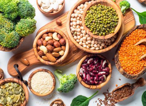 Los españoles, cada vez más abiertos a las dietas de origen vegetal