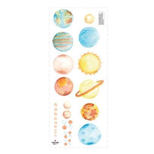 VINILO INFANTIL: Planetas [2]