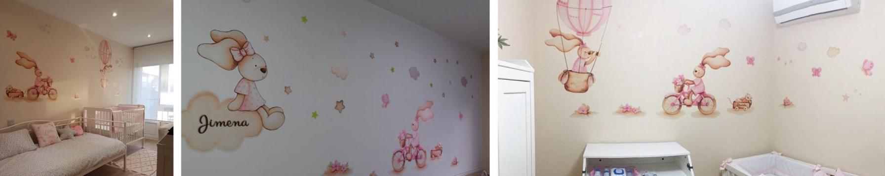 Pintar la habitación del bebé