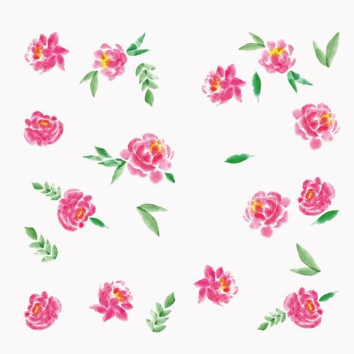 VINILO INFANTIL: Flores pequeñas [1]