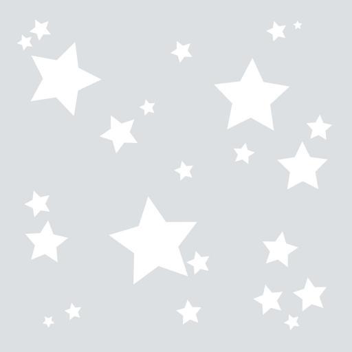 VINILO INFANTIL: Estrellitas blancas [0]