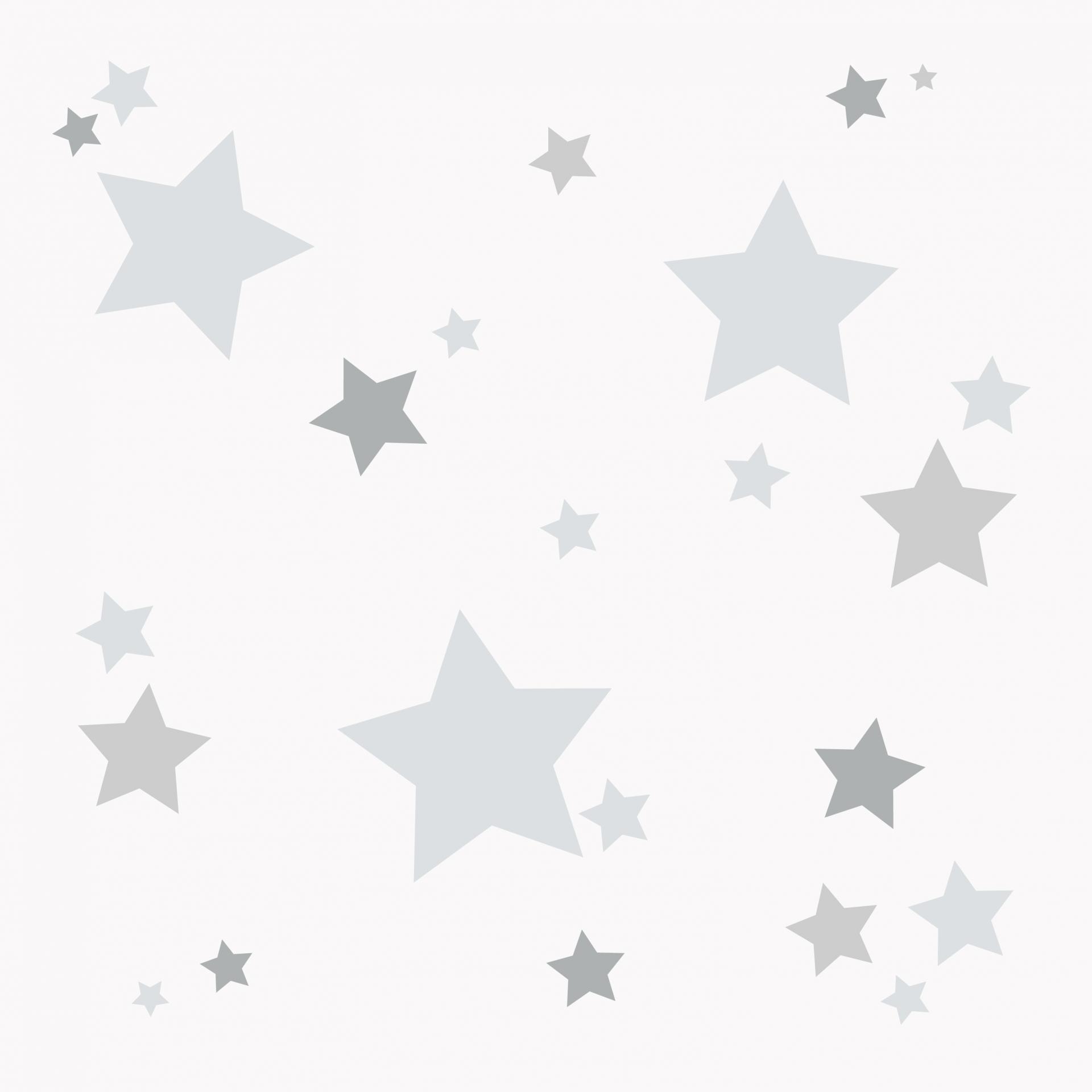 VINILO INFANTIL: Estrellitas grises