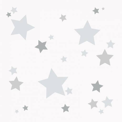 VINILO INFANTIL: Estrellitas grises [0]