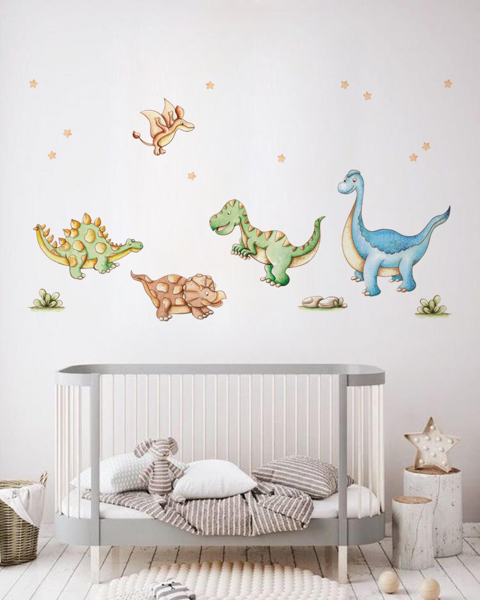 VINILO INFANTIL: Dinosaurios