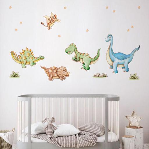VINILO INFANTIL: Dinosaurios [0]