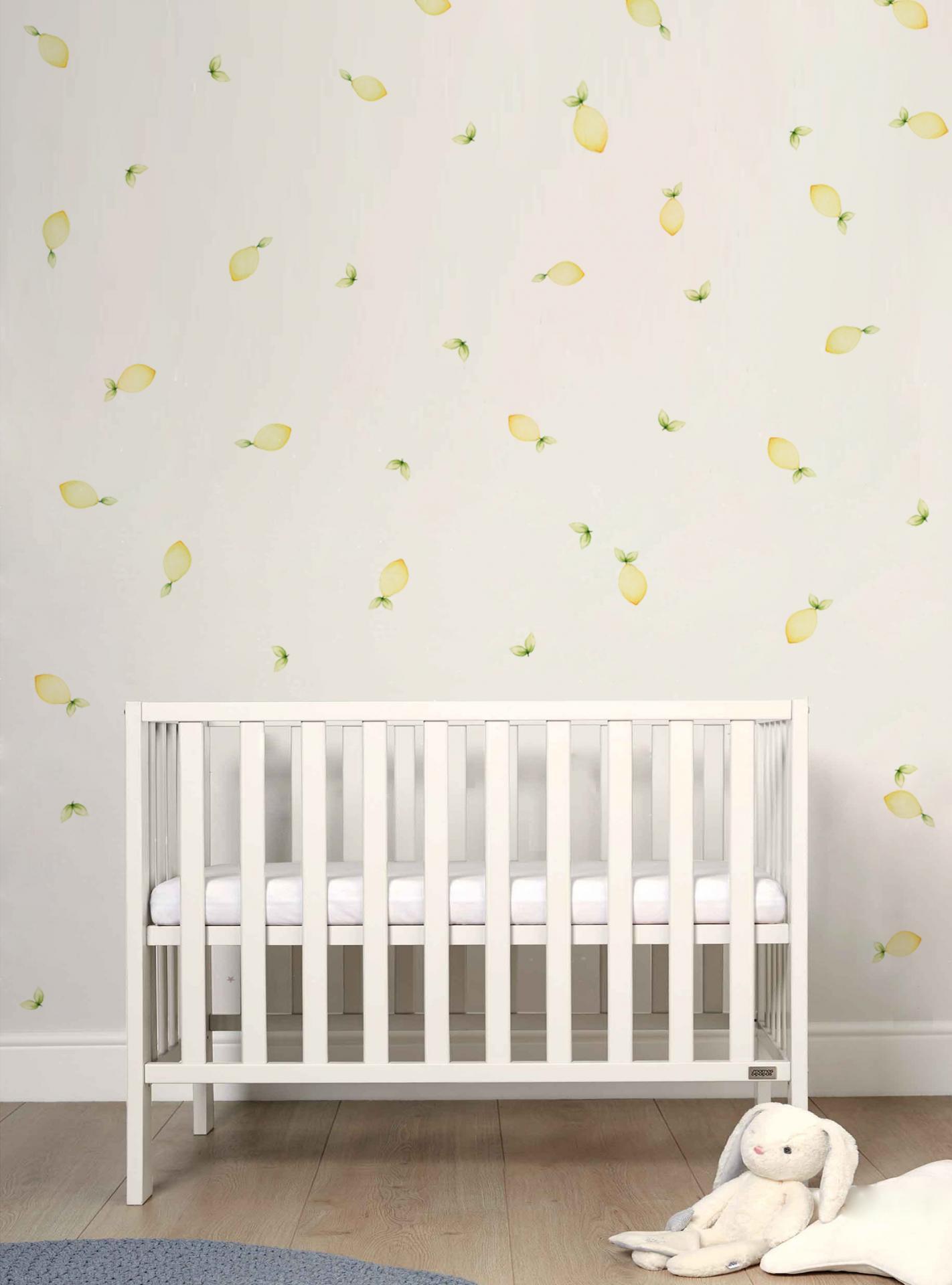 VINILO INFANTIL: limones