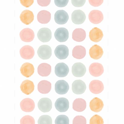 VINILO INFANTIL: topitos en tonos pastel [2]