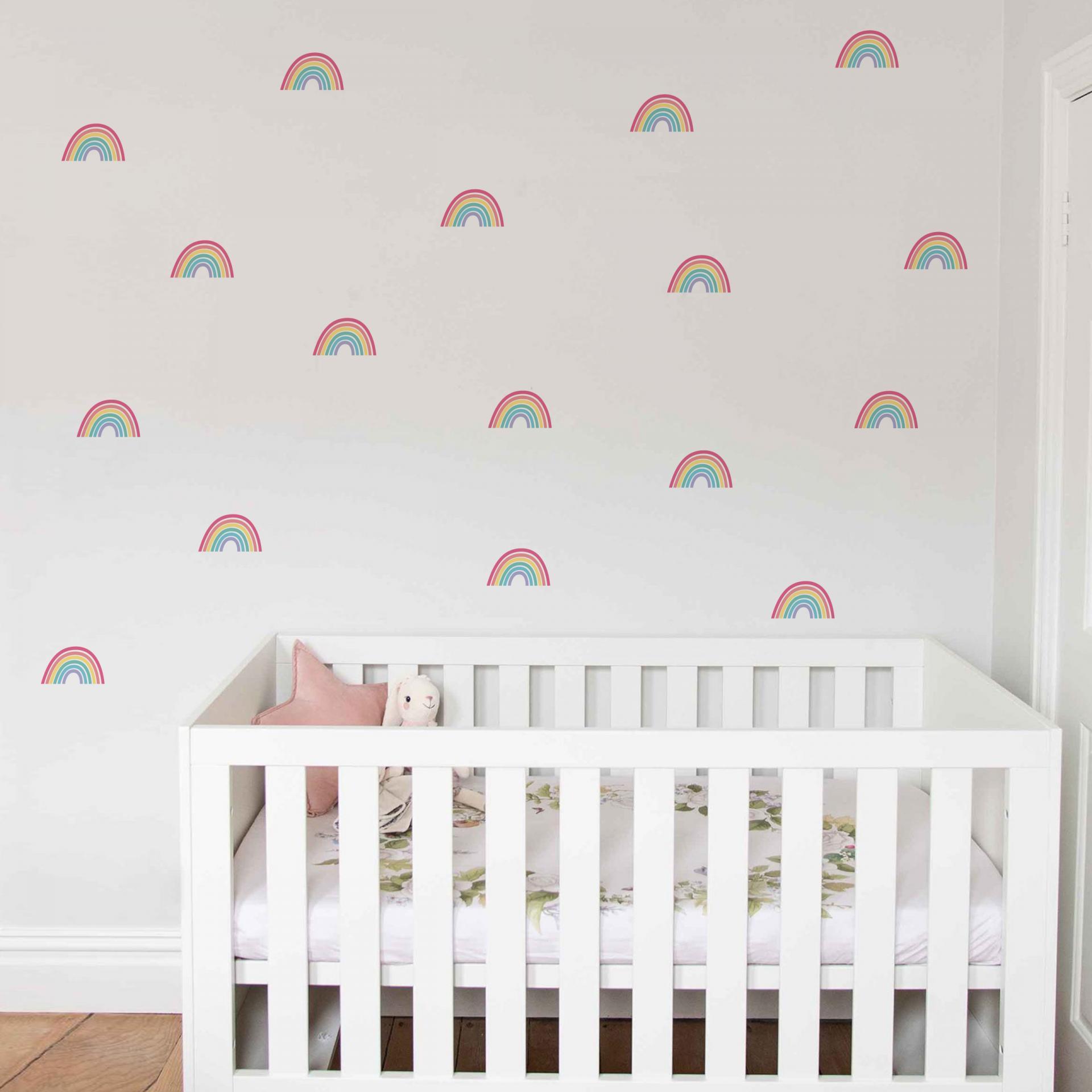 VINILO INFANTIL: arcoiris