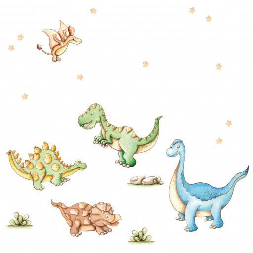 VINILO INFANTIL: Dinosaurios [1]